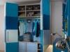 armadio scorrevole colorato ad ante pieghevoli
