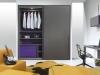 armadio scorrevole moderno per cameretta