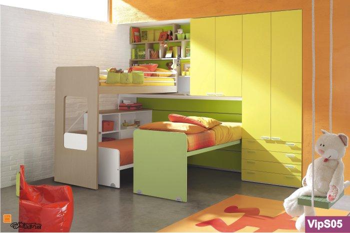 Progettare camerette per bambini - Camerette bambini piccoli spazi ...