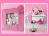 Portafoto e scrivania di Barbie