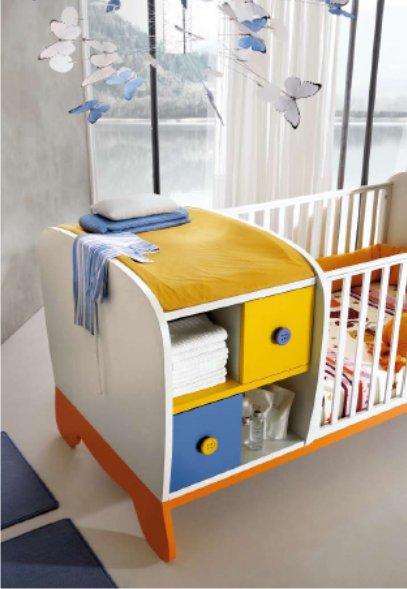 Lettino trasformabile Clown   Camerette per neonati