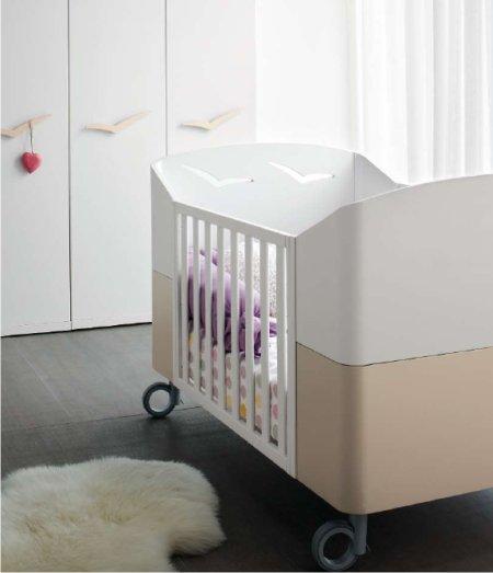 gabbiano trasformabile: camerette per neonati di design - Arredamento Neonati Design