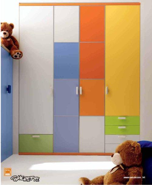 Camerette per bimbo - Armadi per camerette bambini ...