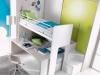 armadio scorrevole e scrivania