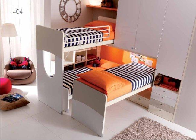Famiglie numerose: una camera progettata per tre
