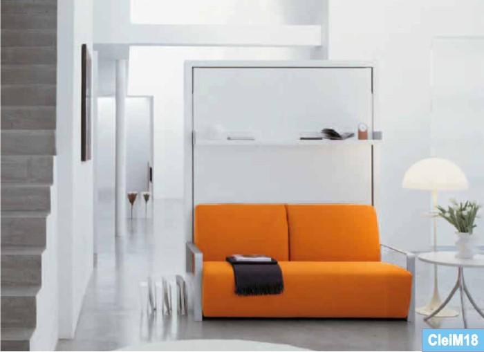 Catalogo Clei Living system , i mobili letto nello spazio living, zone ...