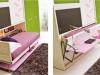 letto e scrivania basculanti