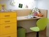 dettaglio fasciatoio trasformabile in scrivania