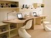 scrivania bianco legno