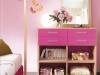 cassetti laccati rosa