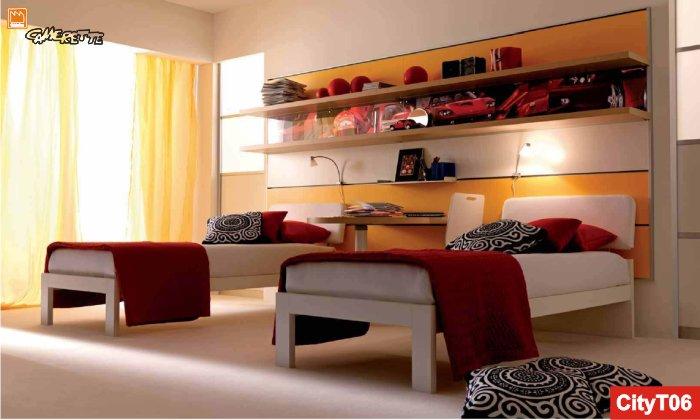 Camerette doppie due bambini in cameretta - Camera da letto doppia ...