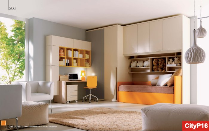 Casa moderna, roma italy: camere per ragazzo