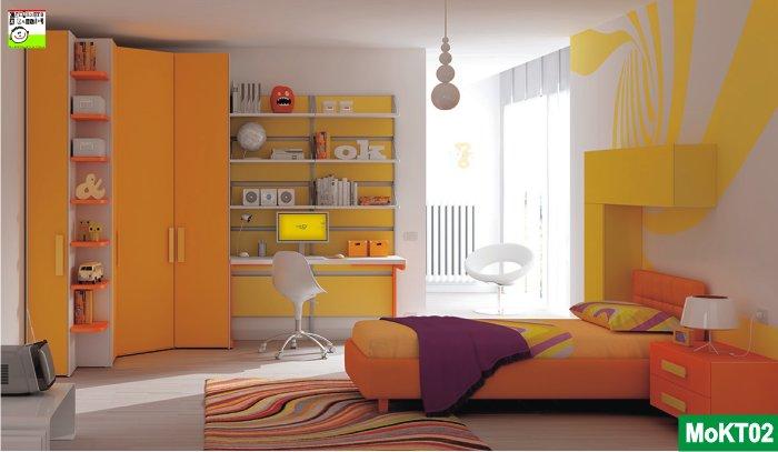 Camerette moretti compact for Colori pareti camerette ragazzi