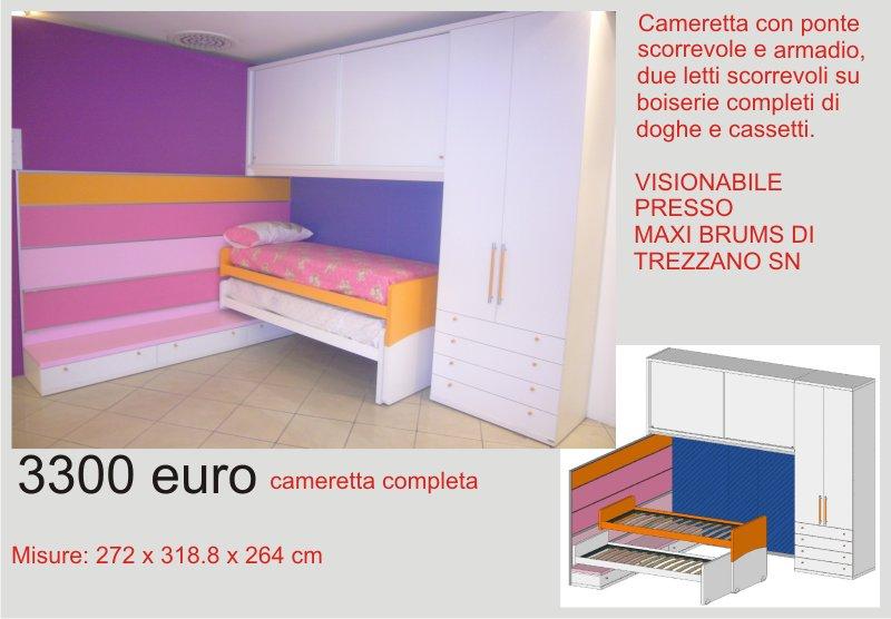 Camerette Outlet Occasioni Sconti E Fine Serie