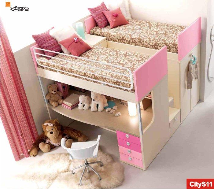 Camerette romantiche per ragazze arredo da principessa - A letto con due donne ...