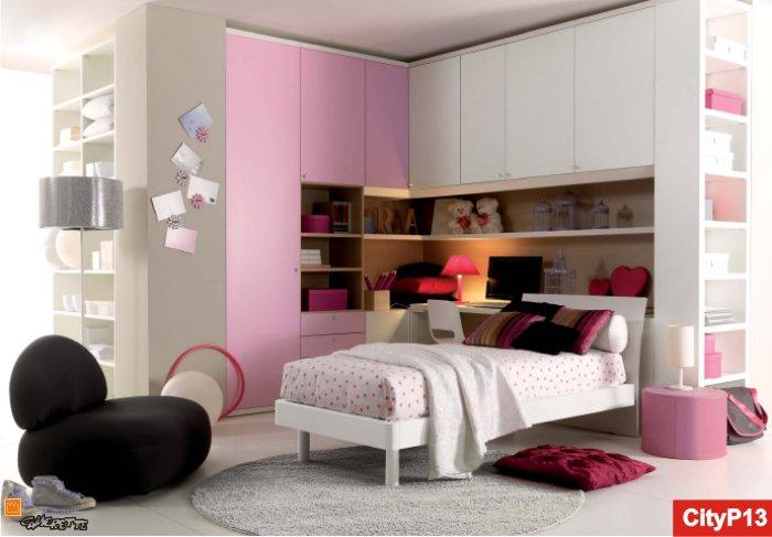 Camerette romantiche per ragazze arredo da principessa - Camere da letto da ragazza ...