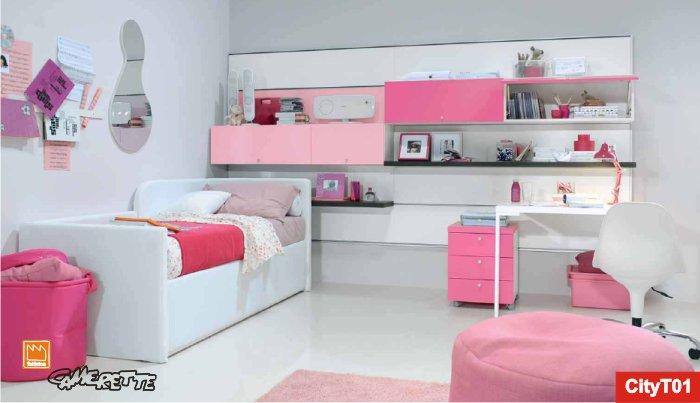Camerette romantiche per ragazze arredo da principessa - Camera da letto ragazza ...