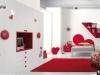 Camera rossa da ragazza