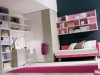 Camere per ragazze con letto imbottito