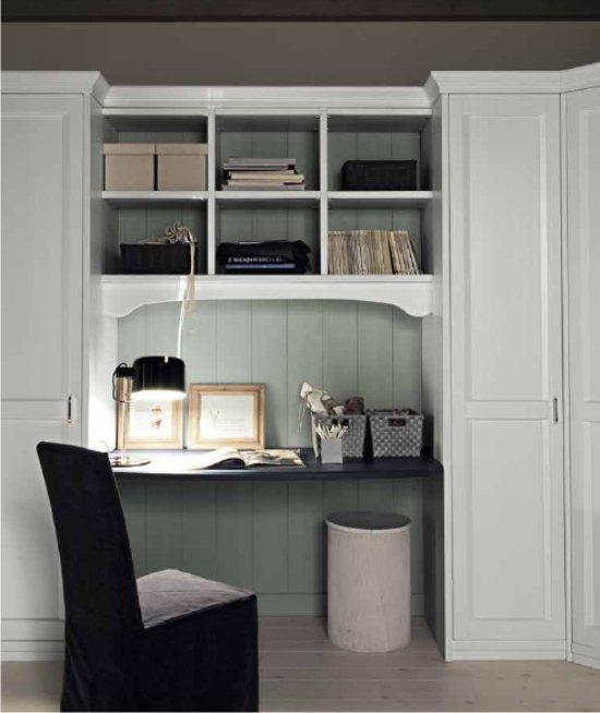 spesso Awesome Armadio Con Scrivania Contemporary - Home Design Ideas  OJ74
