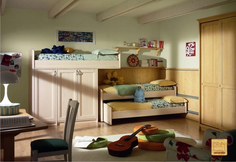 camerette in massello stile olandese : Camerette Bambini Stile Country : Camerette classiche il design della ...
