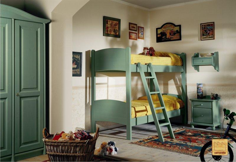 Letti in legno di design design casa creativa e mobili - Camerette bambini legno naturale ...