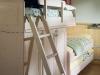Scaletta a pioli in legno massello