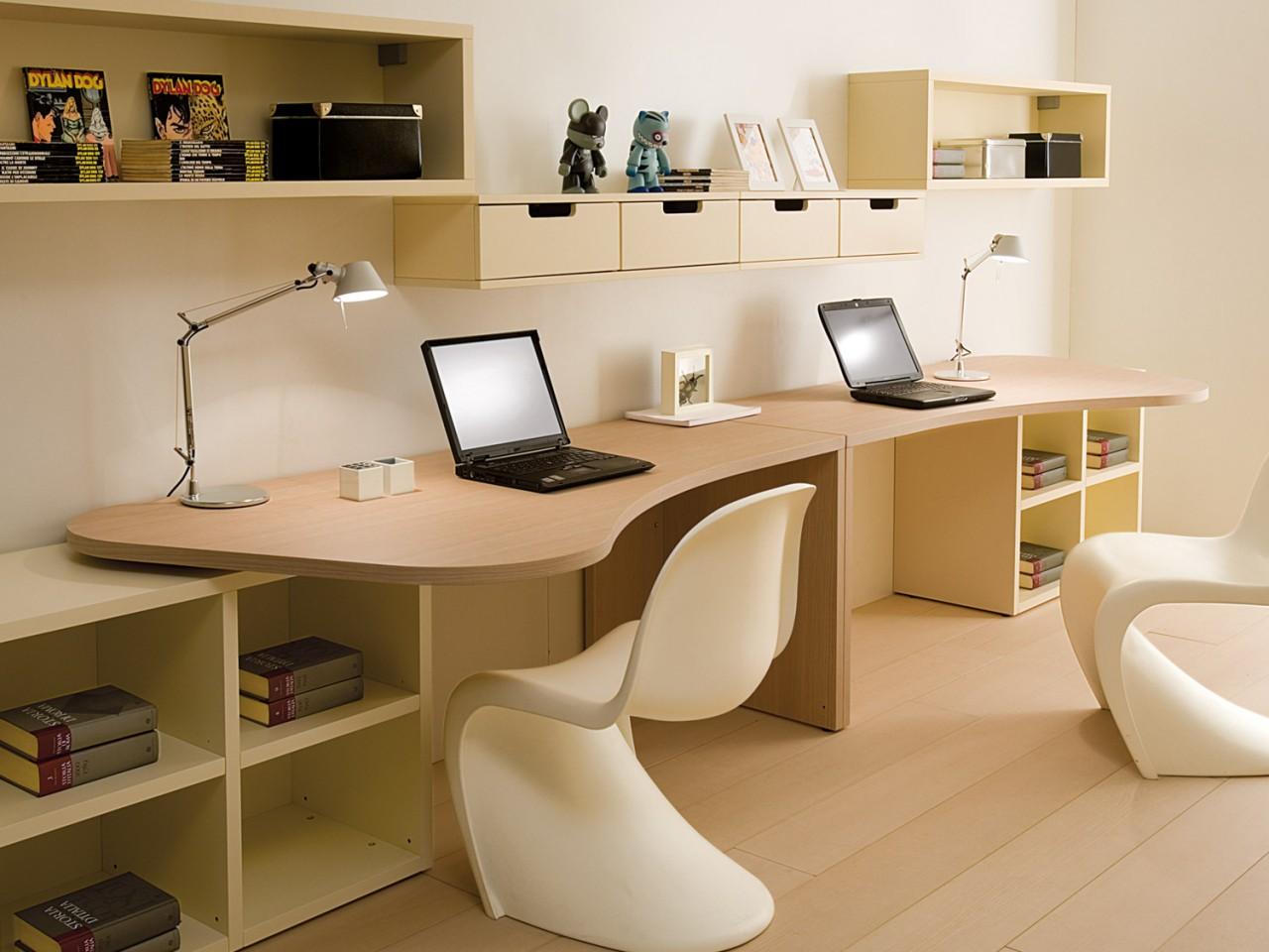 Письменный стол со стеллажом - kirana company.
