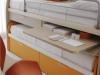 tetti attrezzati con scrivania a scomparsa