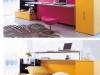 scrivania a scomparsa nel letto