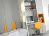 scrivania in armadio