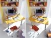 piano scrivania mobile