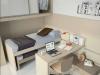 scrivania penisola scorrevole