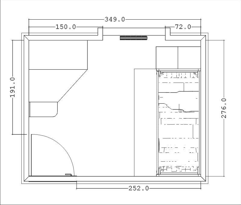 Progettare una stanza - Progettare la camera da letto ...