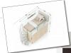 Ingombri letto a soppalco con cabina armadio integrata