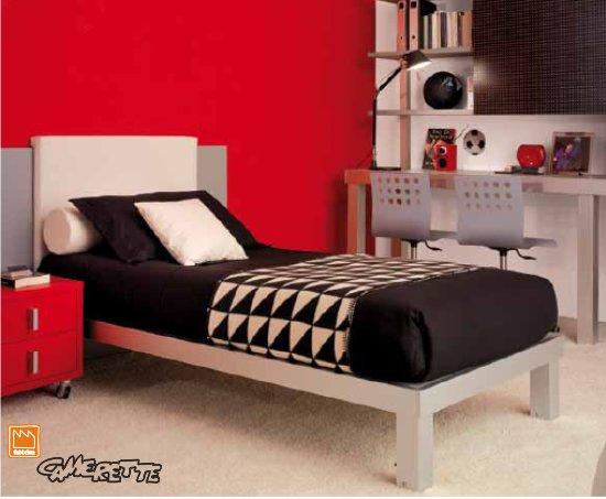 Testiera letto imbottita a muro trendy letto standard - Testata letto a muro ...