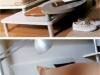 Dettagli pedana e piede del letto