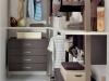 Dettaglio interno cabina armadio