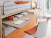 scrivania estraibile dal lettino