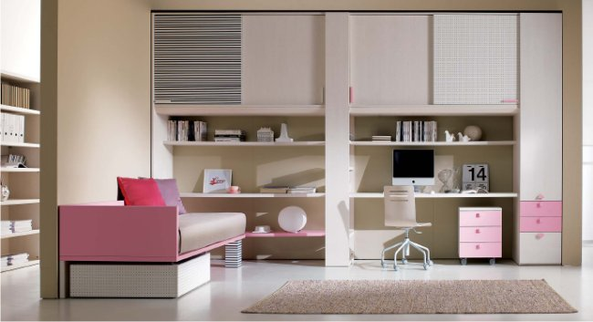 Camere singole moderne tutte le immagini per la for Mobili camera ragazza