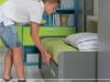 Particolare estrazione del letto