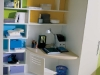 zona studio con libreria
