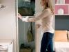 cabina armadio con anta battente