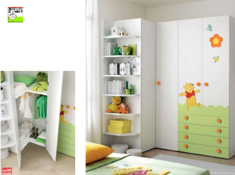 Angolo spiegazione per bambini design casa creativa e - Mobili per bambini design ...