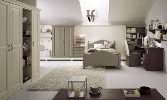 Camerette classiche il design della tradizione - Camere da letto singole ikea ...