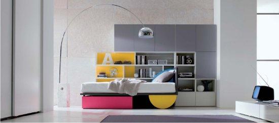 camerette dielle: outlet a milano e in brianza - Mobili Design Per Bambini Milano