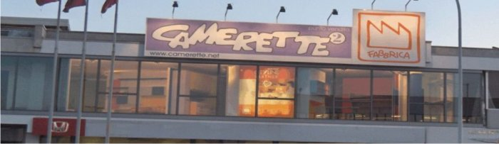 Centro camerette a milano cernusco sul naviglio for Fabbrica camerette