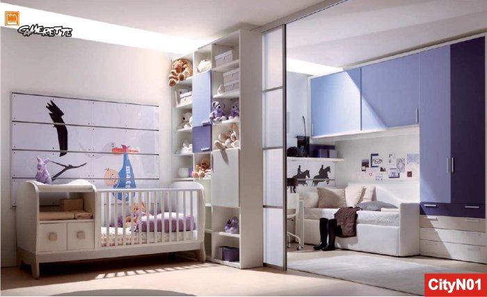 Cameretta trasformabile per neonati