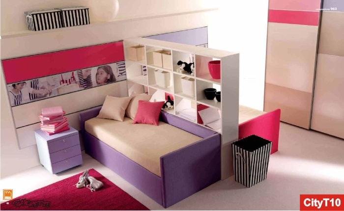 Camere Da Letto Ragazzi Roma : Casa moderna roma italy: camere da letto bimbi