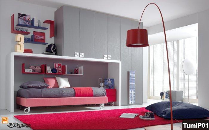Casa moderna, roma italy: camerette x ragazze